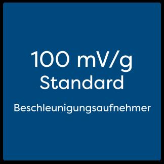 100 mV/g Standard Beschleunigungsaufnehmer