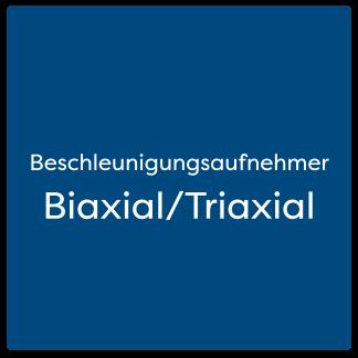 Biaxial/Triaxial Beschleunigungsaufnehmer