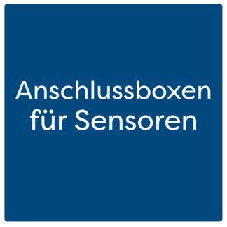 Anschlussboxen für Sensoren