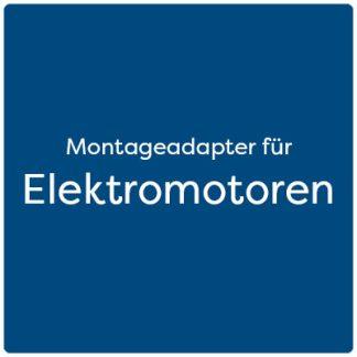Montageadapter für Elektromotoren