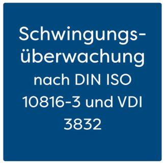 Schwingungsüberwachung nach DIN ISO 10816-3 und VDI 3832