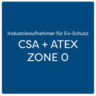 Industrieaufnehmer für Ex-Schutz CSA + ATEX ZONE 0